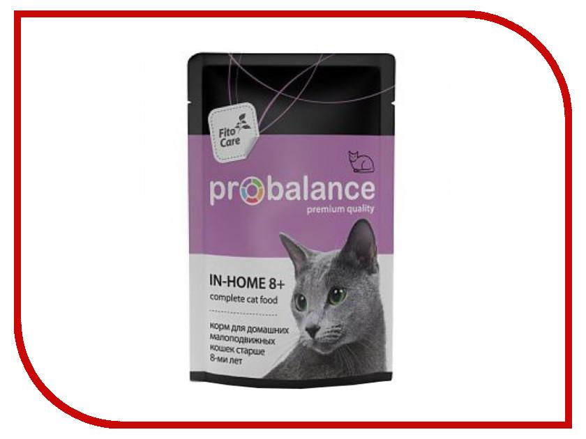 Корм ProBalance In Homme 8+ 85g для малоподвижных кошек и кошек старше 8-и лет