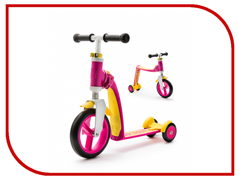 Scoot&Ride - Самокат Scoot&Ride Highway Baby Plus Yellow-Pink