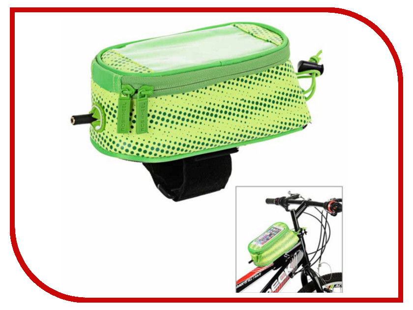 Велосумка Roswheel Polka M 121024PM-G Light Green