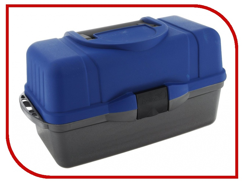Аксессуар Helios Ящик трехполочный 44x23x22 cm Blue garin lux hpd1000 prem superbright