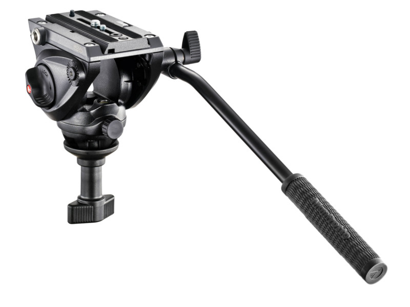 Головка для штатива Manfrotto MVH500A Black цены