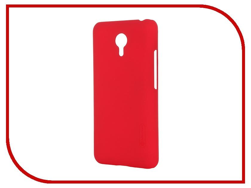 Аксессуар Чехол Meizu M2 Note Nillkin Frosted Shield Red
