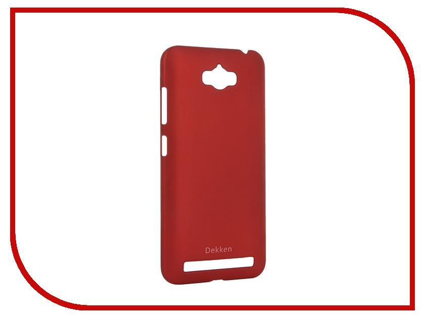 все цены на  Аксессуар Чехол ASUS ZenFone Max ZC550KL Dekken Soft Touch Red 20334  онлайн