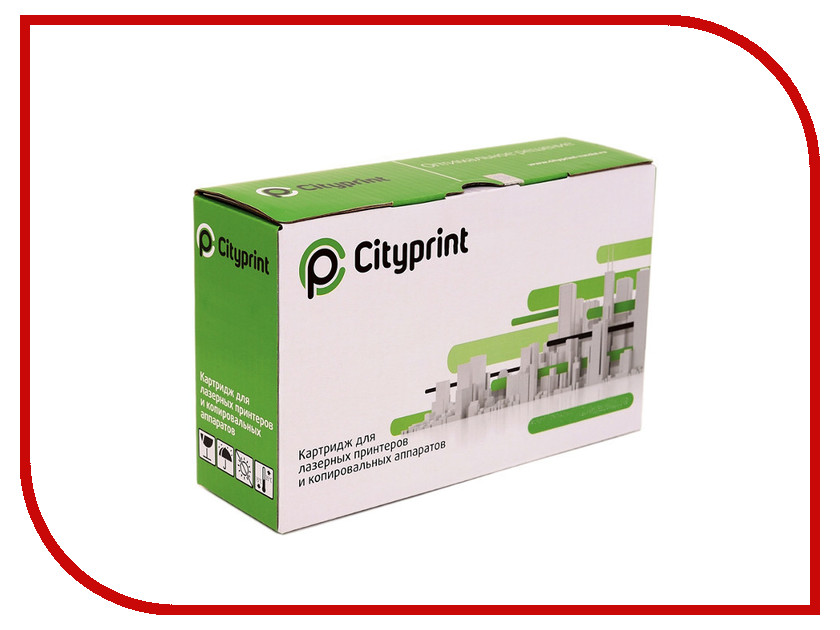 Картридж Cityprint Q7551A Black для HP LaserJet M3027/M3027XMFP/M3035MFP/M3035XS MFP/P3005/P3005D/P3005DN/P3005N/P3005X<br>