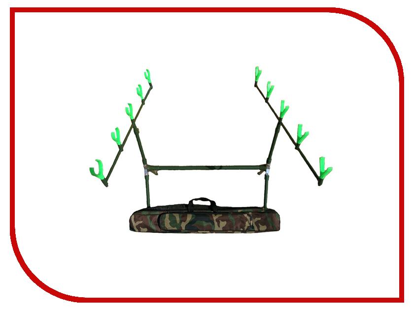 Подставка Hoxwell HL208 Rod Pod сигнализатор поклевки hoxwell new direction k9 r9 5 1