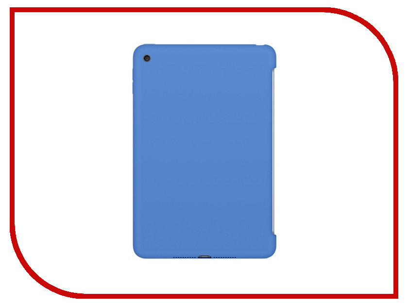 Аксессуар Чехол APPLE iPad mini 4 Silicone Case Royal Blue MM3M2ZM/A<br>