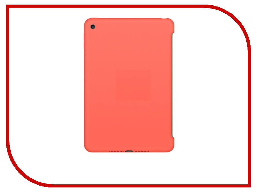 Аксессуар Чехол APPLE iPad mini 4 Silicone Case Apricot MM3N2ZM/A<br>