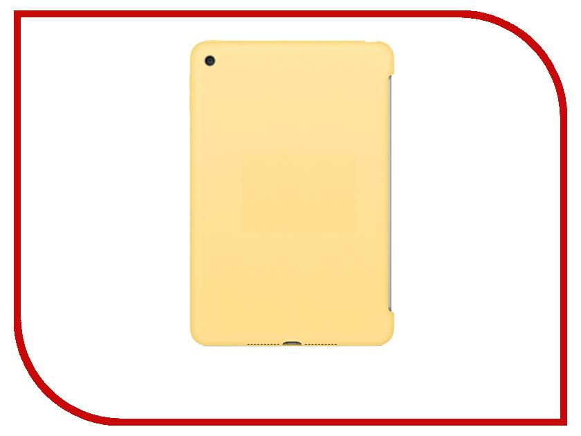 Аксессуар Чехол APPLE iPad mini 4 Silicone Case Yellow MM3Q2ZM/A<br>