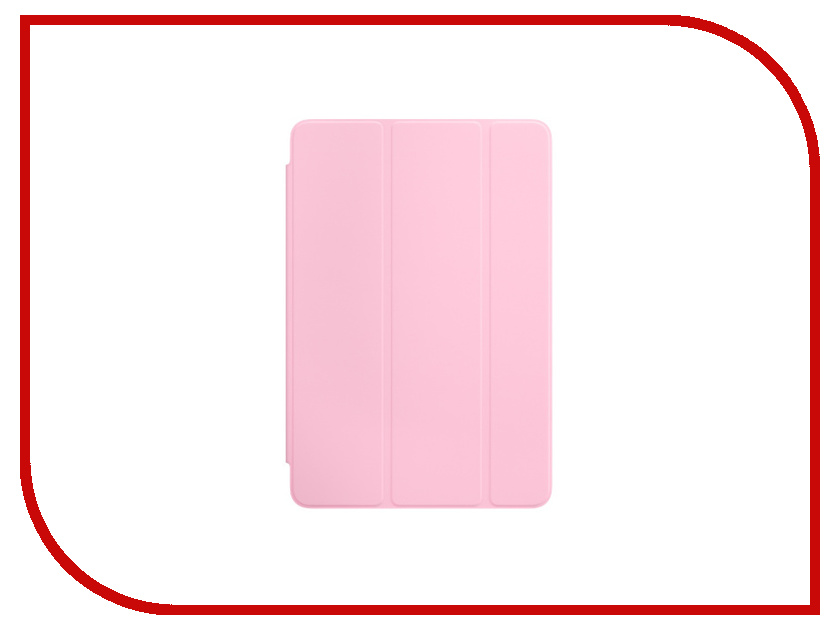 Аксессуар Чехол APPLE iPad mini 4 Smart Cover Light Pink MM2T2ZM/A