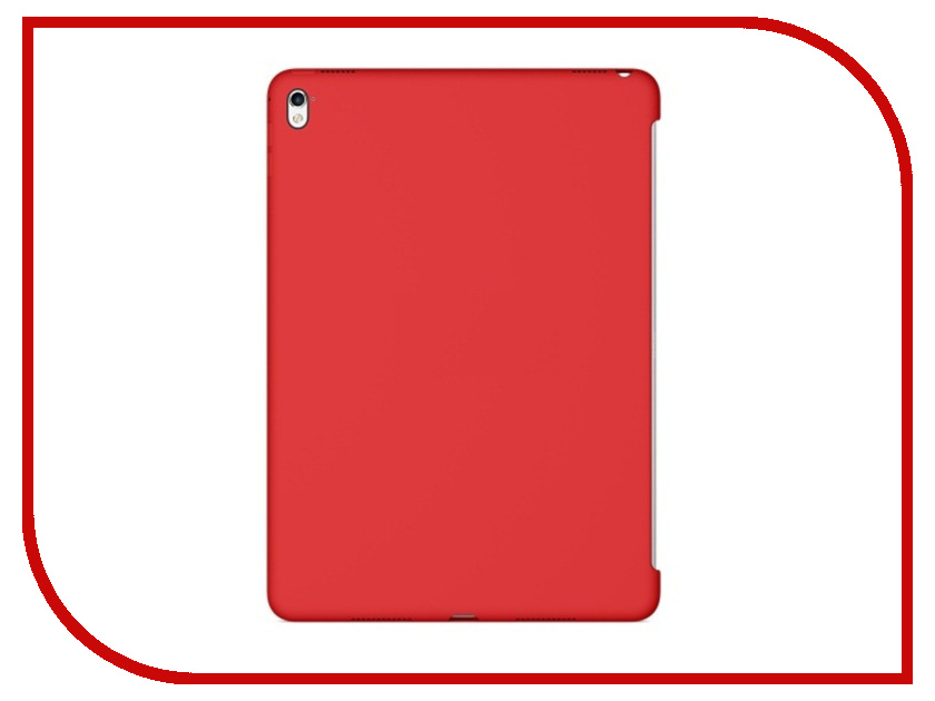 ��������� ����� APPLE iPad Pro 9.7 Silicone Case Red MM222ZM/A