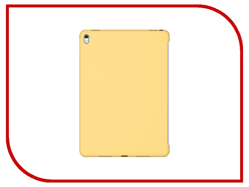 Аксессуар Чехол APPLE iPad Pro 9.7 Silicone Case Yellow MM282ZM/A<br>