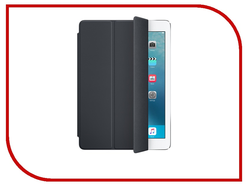 Аксессуар Чехол APPLE iPad Pro 9.7 Smart Cover Charcoal Grey MM292ZM/A<br>