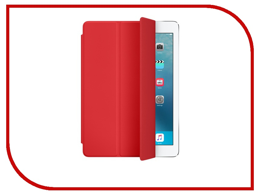 Аксессуар Чехол APPLE iPad Pro 9.7 Smart Cover Red MM2D2ZM/A<br>