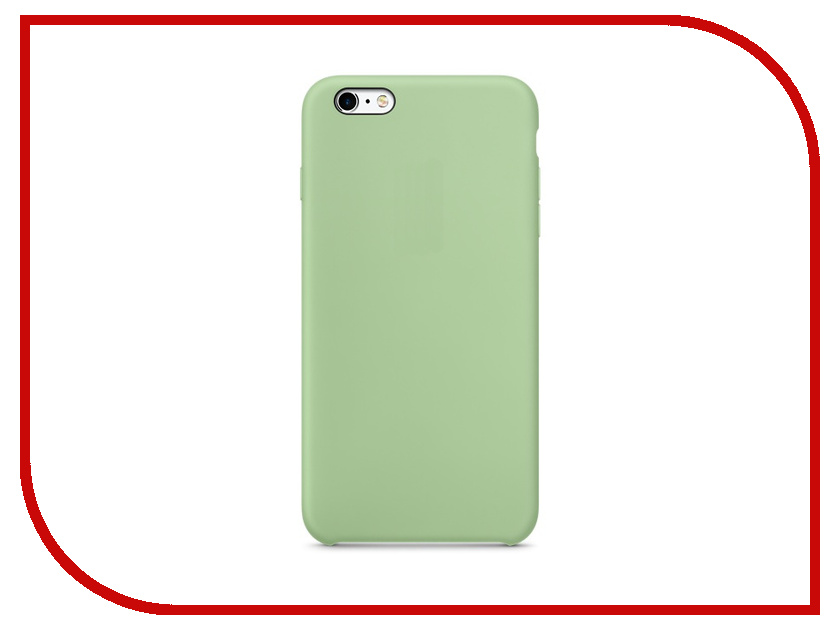 Аксессуар Чехол APPLE iPhone 6S Plus Silicone Case Mint MM692ZM/A<br>