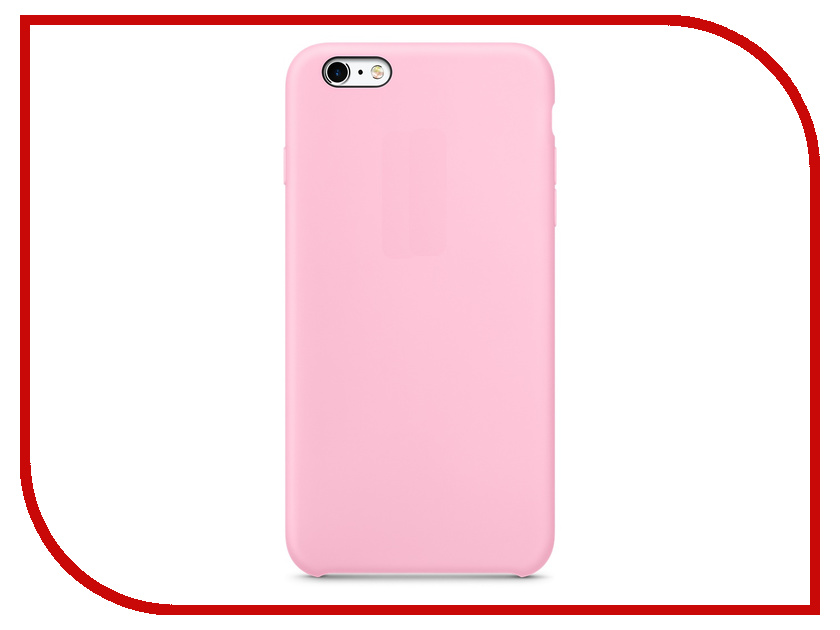 ��������� ����� APPLE iPhone 6S Plus Silicone Case Light Pink MM6D2ZM/A