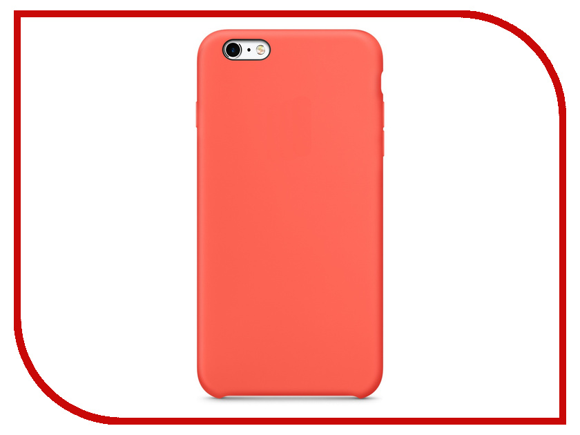 Аксессуар Чехол APPLE iPhone 6S Plus Silicone Case Apricot MM6F2ZM/A<br>
