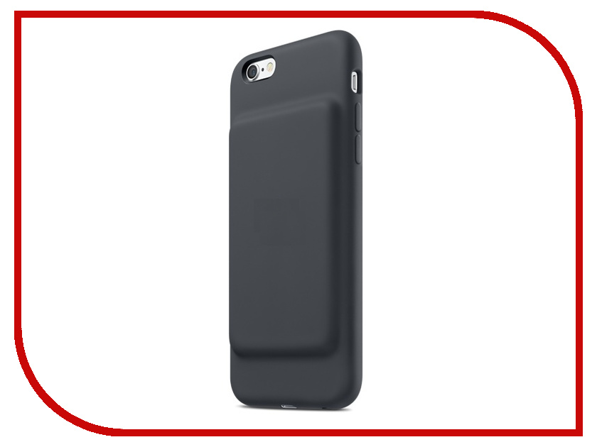 Аксессуар Чехол-аккумулятор APPLE iPhone 6/6S Smart Battery Case Charcoal Gray MGQL2ZM/A<br>