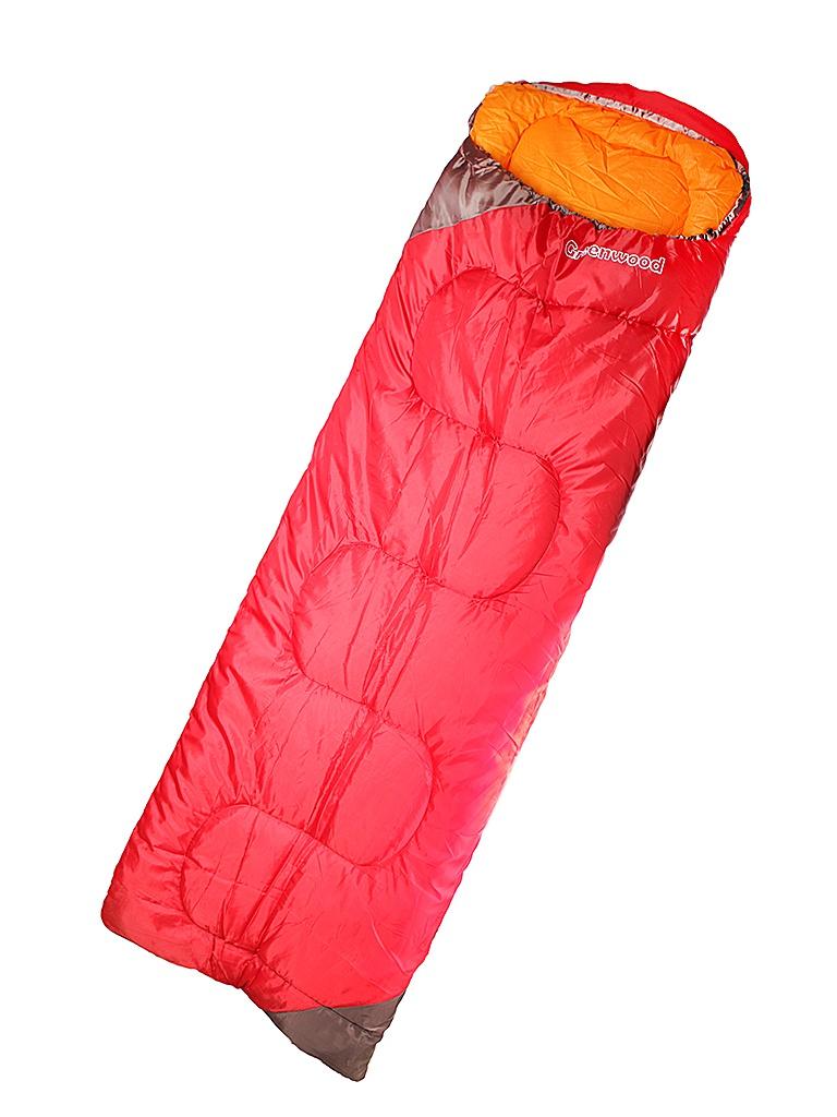 Cпальный мешок Greenwood RS FS-1008-1 Red cпальный мешок larsen rs 350r 1