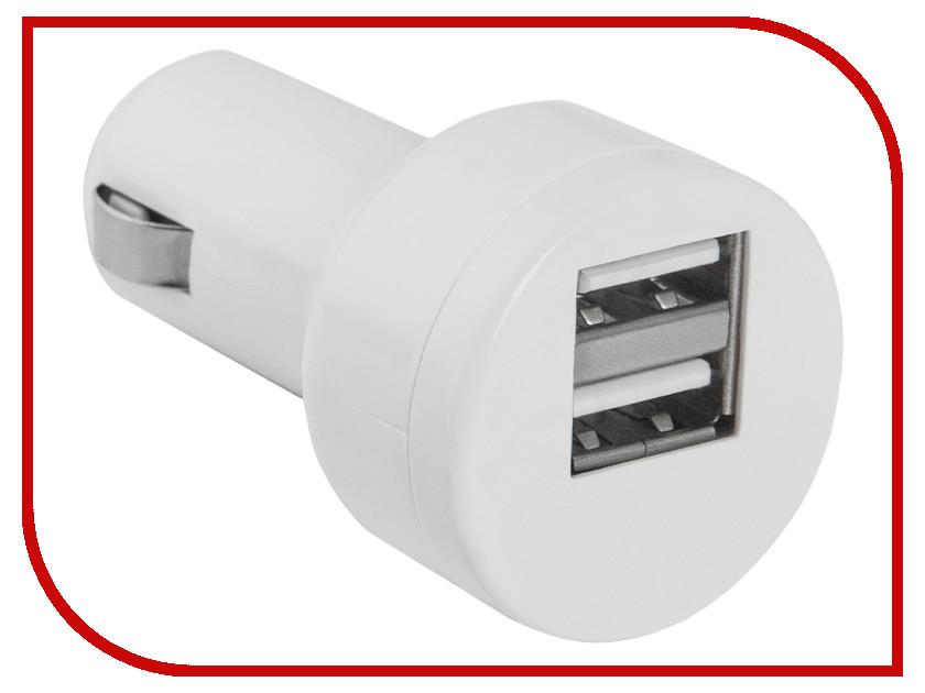 Зарядное устройство Defender ECA-15 2xUSB 83561