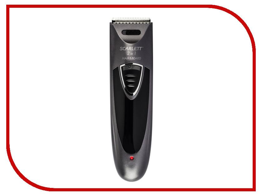 Машинка для стрижки волос Scarlett SC-HC63C58 Graphite машинка для удаления катышков scarlett sc 921