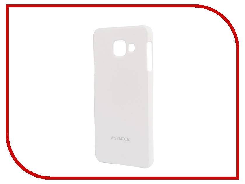 Аксессуар Чехол-накладка Samsung Galaxy A3 2016 Anymode Hard Case White FA00068KWH<br>