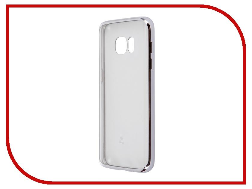 Аксессуар Чехол-накладка Samsung Galaxy S7 Anymode Luxe Soft Skin Silver FA00016KSV