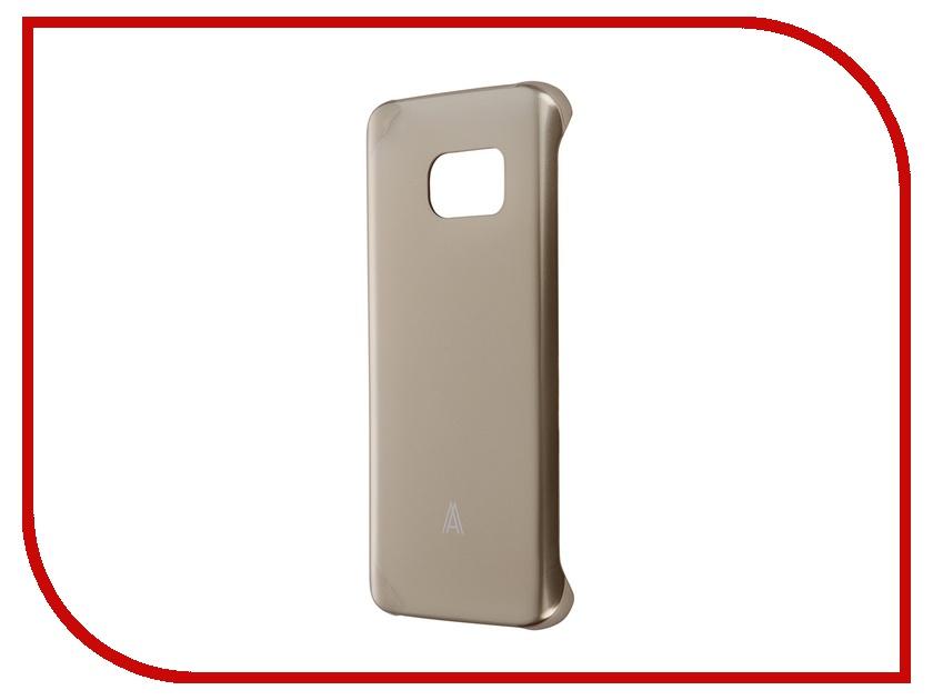 Аксессуар Чехол-накладка Samsung Galaxy S7 Anymode Hard Case Gold FA00105KGD<br>