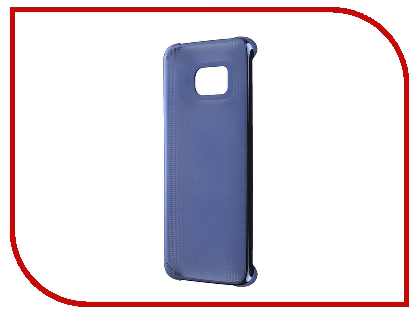Аксессуар Чехол-накладка Samsung Galaxy S7 Edge Anymode Metalizing Hard Blue FA00033KBL<br>