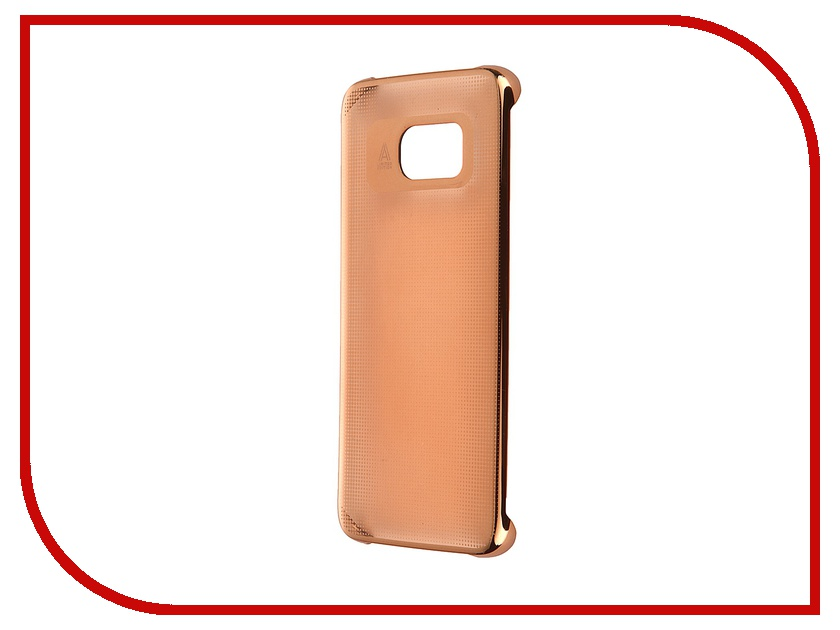 Аксессуар Чехол-накладка Samsung Galaxy S7 Edge Anymode Metalizing Hard Orange FA00020KOR<br>