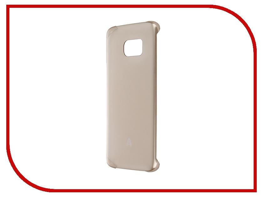 Аксессуар Чехол-накладка Samsung Galaxy S7 Edge Anymode Hard Case Gold FA00113KGD<br>