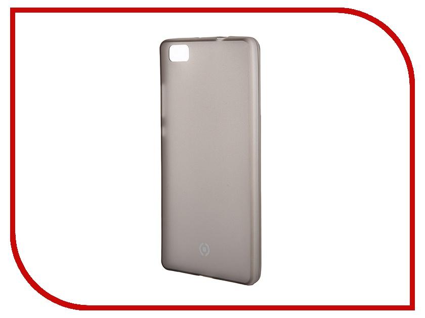 Аксессуар Чехол Huawei P8 Lite Celly Frost Grey FROSTP8LITEBK