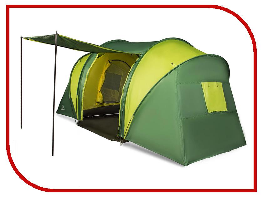 Палатка GreenWood Halt 6 Green-Lime
