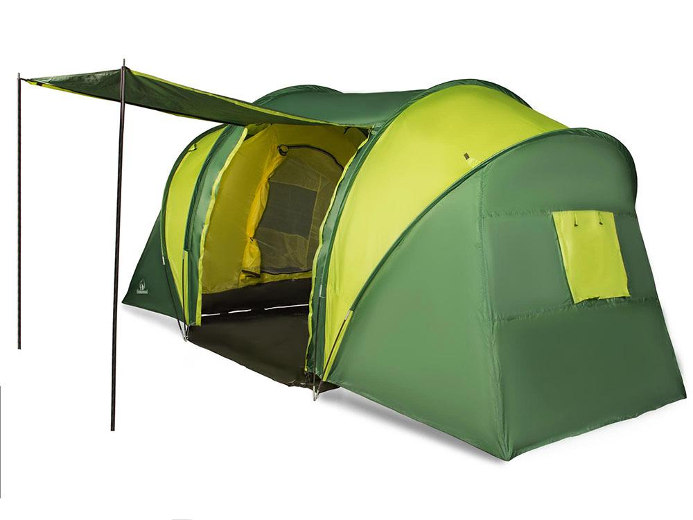 Палатка GreenWood Halt 6 Green-Lime цены
