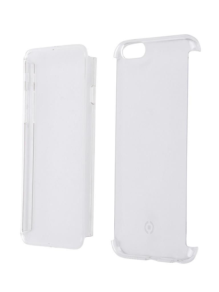 Аксессуар Чехол Celly 360 для iPhone 6/6S Transparent BODYIP6S<br>