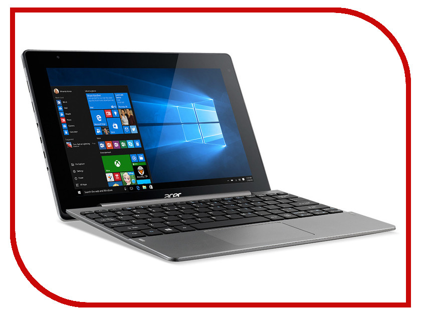 Планшет Acer Aspire Switch 10 SW5-014-1799 NT.G62ER.001 Iron (Intel Atom x5-Z8300 1.44 GHz/2048MB/64Gb/Intel HD Graphics/Wi-Fi/Bluetooth/Cam/10.1/1920x1200/Windows 10) intel e97378 001