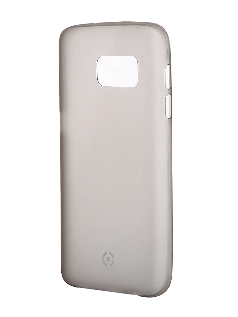Аксессуар Чехол Samsung Galaxy S7 Celly Frost Grey FROSTGS7BK<br>