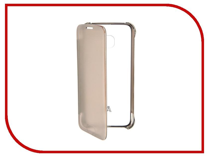 Аксессуар Чехол Samsung Galaxy S7 Anymode Me-In Gold FA00109KGD<br>