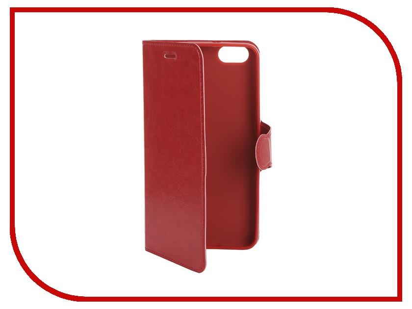 Аксессуар Чехол Huawei Honor 4X Red Line Book Type Sleek Red
