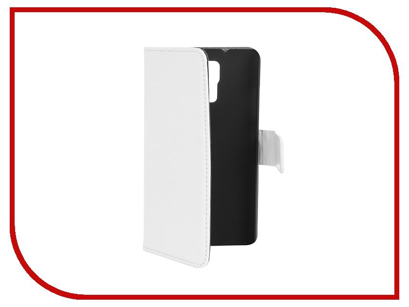 Аксессуар Чехол Huawei Honor 7 Red Line Business White<br>
