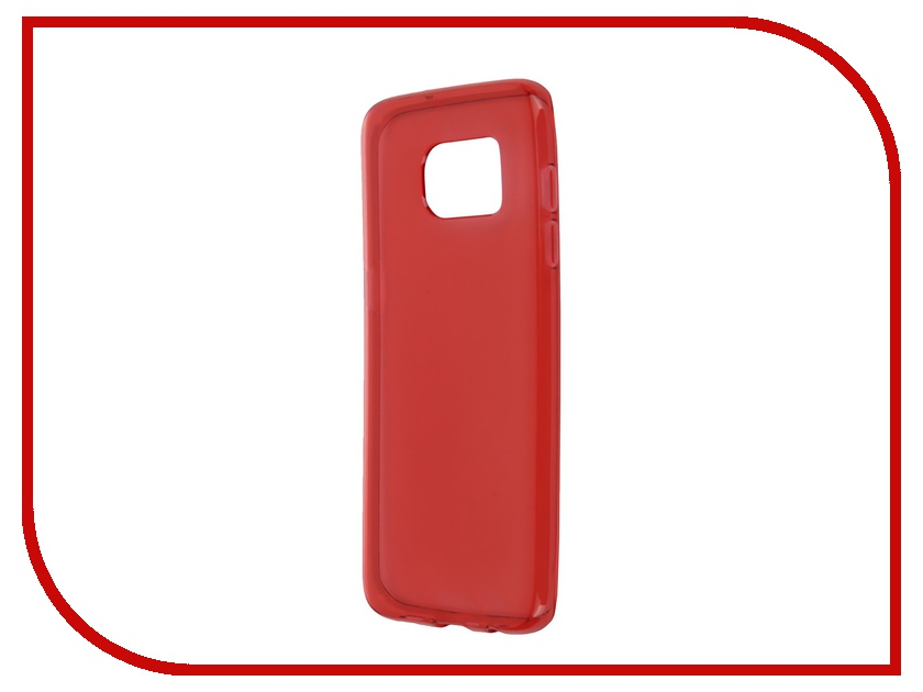 Аксессуар Чехол-накладка Samsung Galaxy S7 Edge iBox Crystal Red<br>