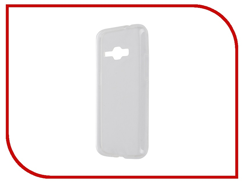 Аксессуар Чехол-накладка Samsung Galaxy J1 2016 iBox Crystal Transparent аксессуар чехол накладка samsung galaxy j1 2016 ibox crystal transparent