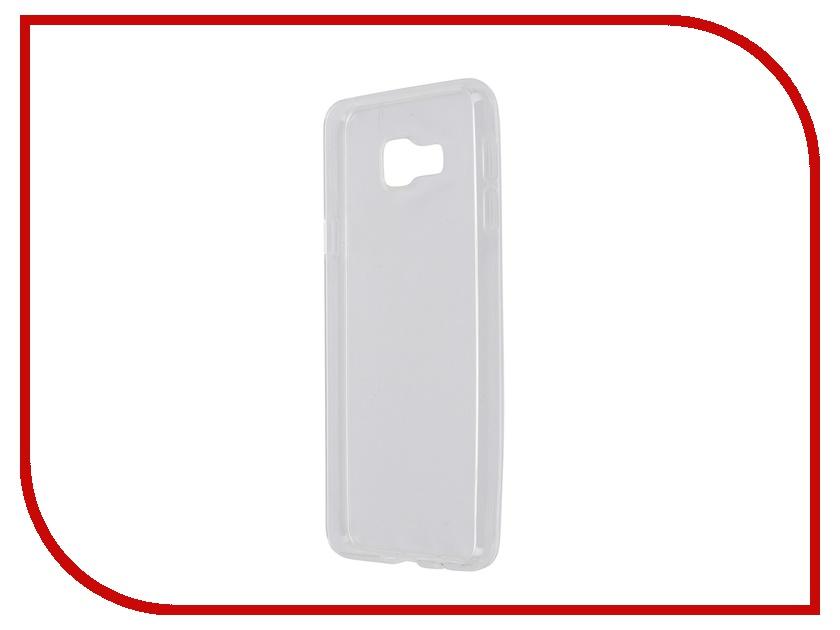 Аксессуар Чехол-накладка Samsung Galaxy A3 2016 iBox Crystal Transparent аксессуар чехол samsung galaxy a3 2017 cojess tpu 0 3mm transparent