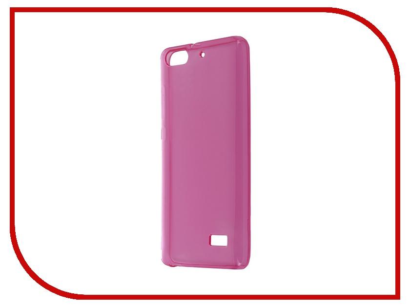 Аксессуар Чехол Huawei Honor 4C iBox Crystal Pink<br>