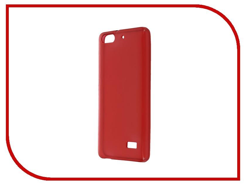 Аксессуар Чехол Huawei Honor 4C iBox Crystal Red