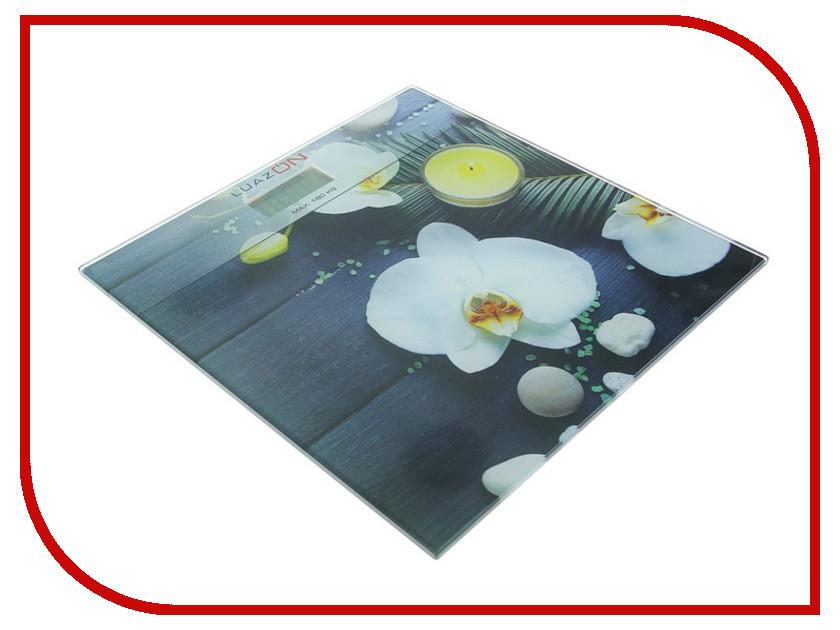 Весы напольные Luazon LVP-1809 Orchid 1147014 гирлянда luazon дождь 2m 6m multicolor 671678