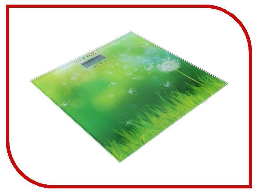 Весы напольные Luazon LVP-1806 Grass 1147011 гирлянда luazon дождь 2m 6m multicolor 671678