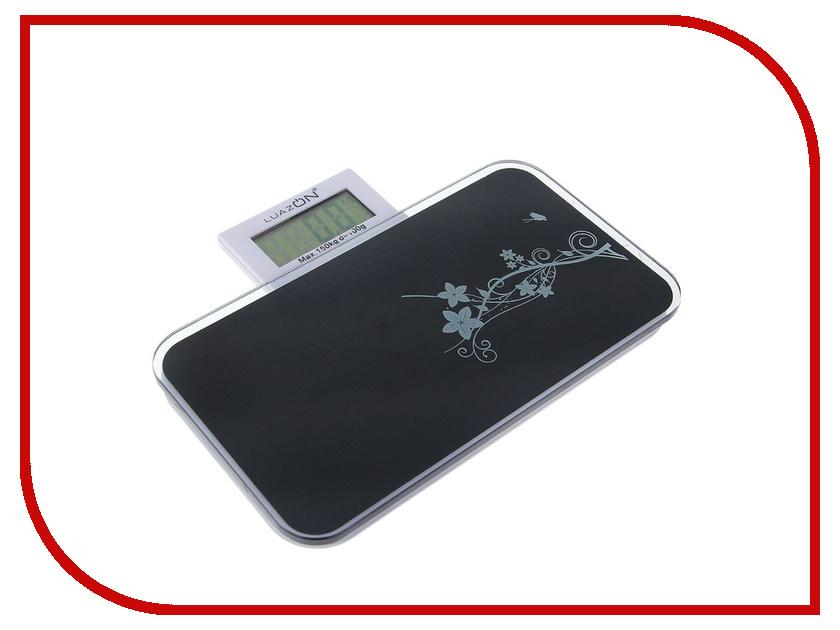 Весы Luazon LVP-1802 Black 1147007