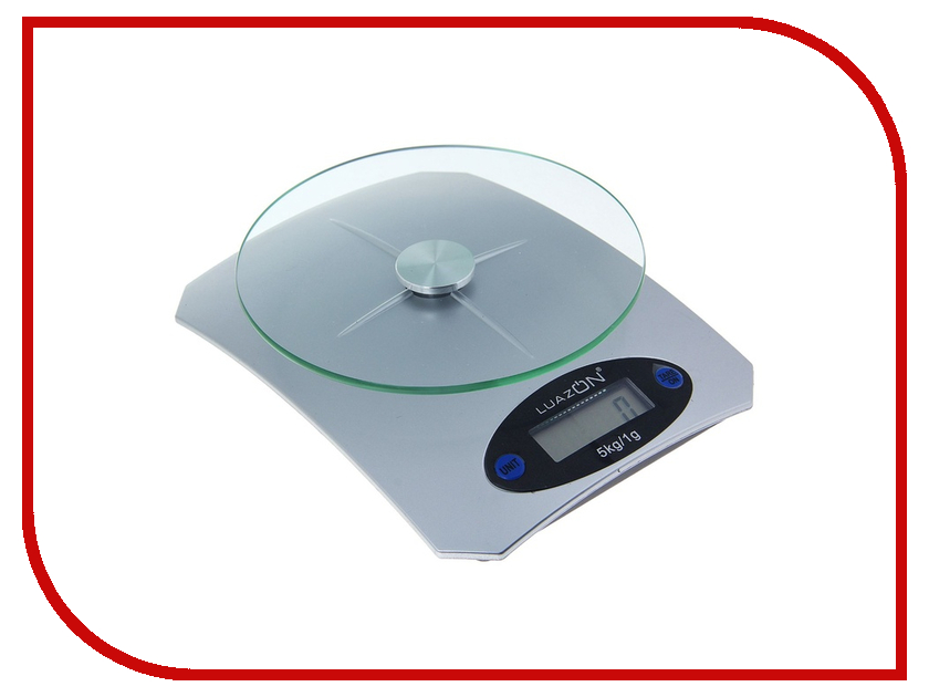 Весы Luazon LVK-502 Silver 1147002<br>