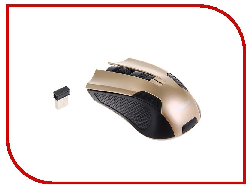 Мышь беспроводная Luazon L-040 Gold 1219948
