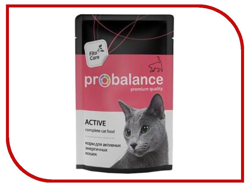 Корм ProBalance Active 85g для активных кошек